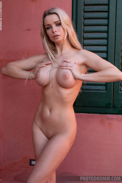 Busty Katya - Hot in the Terrace - pics 07