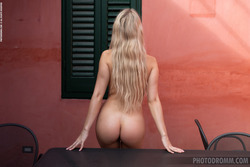 Busty Katya - Hot in the Terrace - pics 09